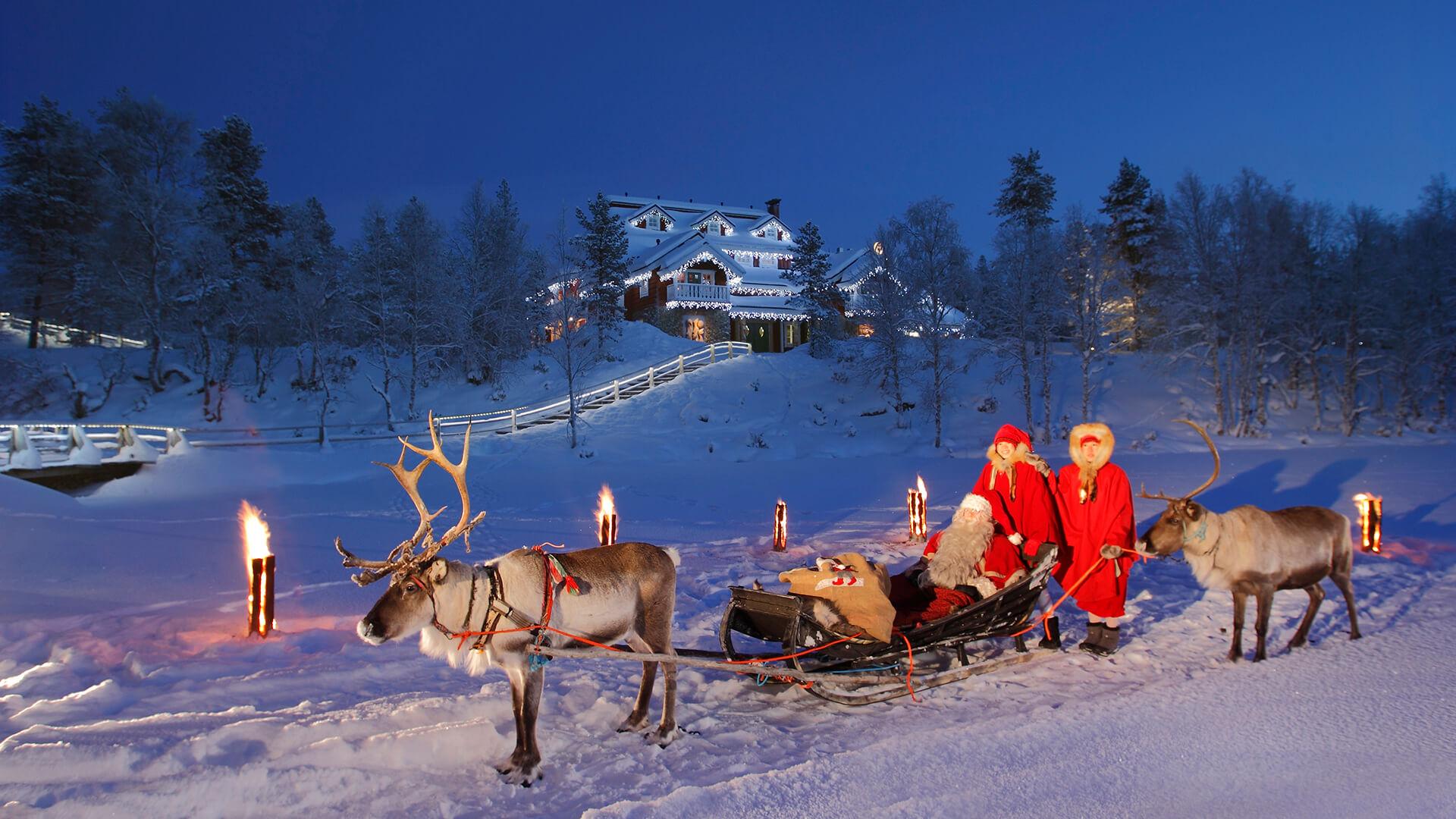 Новый год в русской лапландии, да еще и в настоящем чуме у открытого очага!